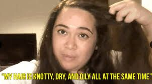 Image result for omg my hair is so knotty
