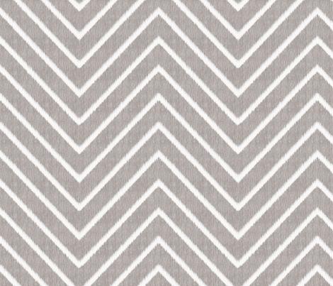 Chevron Chic - Maxi - Silver Grey fabric