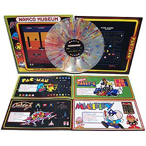 Namco Museum - Greatest Hits Exclusive Vinyl LP | ThinkGeek