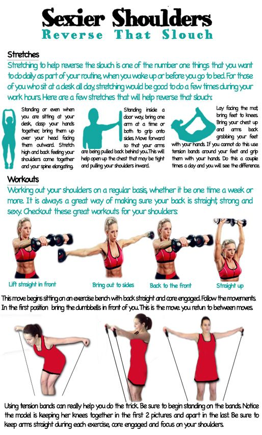 Reserve that Slouch! Learn how to get sexier shoulders in one week!! Click here for more great workouts: http://www.flaviliciousfitness.com/blog/2013/08/14/shoulder-workout-for-women/