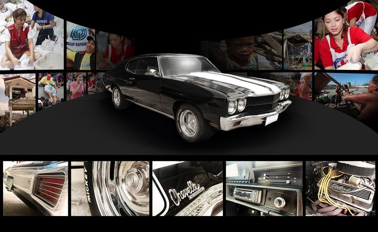 Angel Locsin Auctions Her 1970 Chevrolet Chevelle