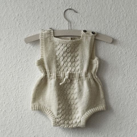 ...knitted baby romper...