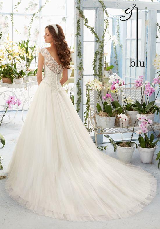 Morilee by Madeline Gardner/Blu 5403 Ball Gown Wedding Dress