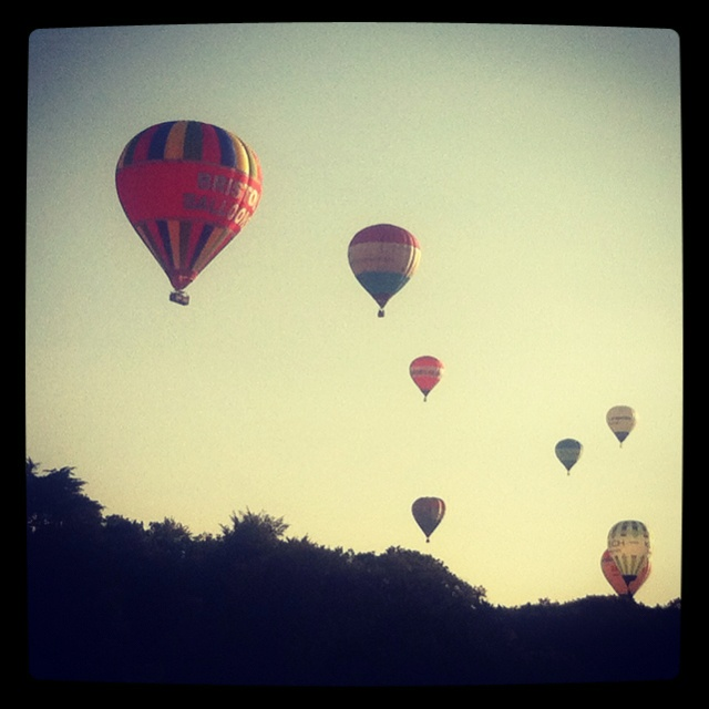 Bristol hot air balloon fiesta