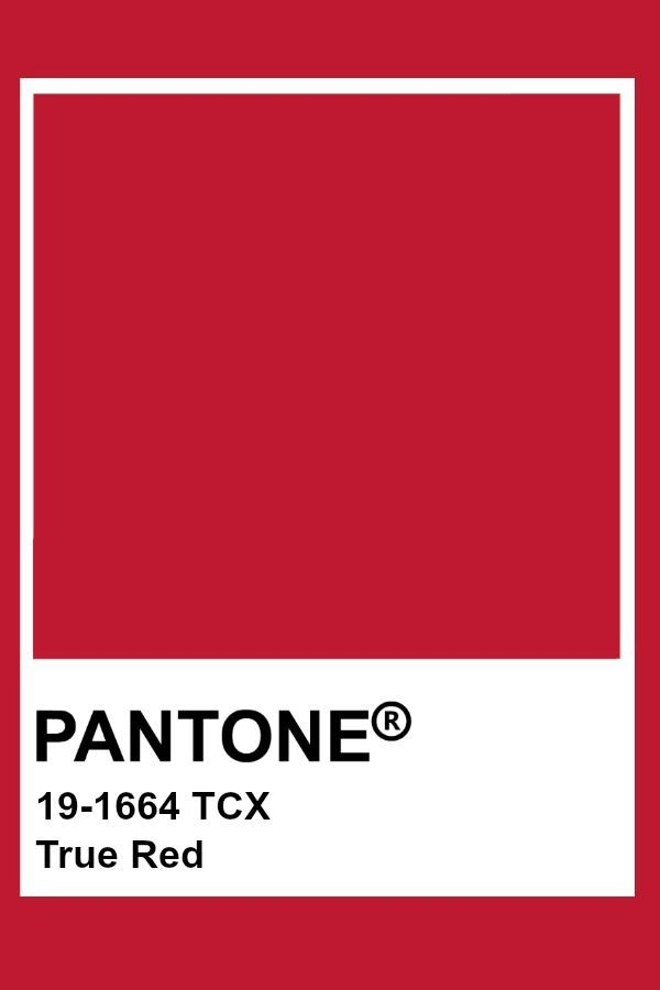 Image result for pantone true red