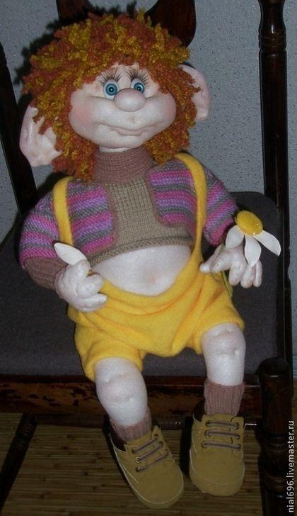 Коллекционные куклы ручной работы. Ярмарка Мастеров - ручная работа Любит....не любит.... Handmade.