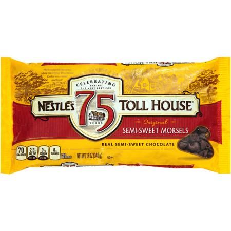 Nestle Toll House Real Semi-Sweet Chocolate Morsels-for hot chocolate bar