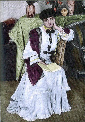 Portrait of Anna de Noailles, 1910's