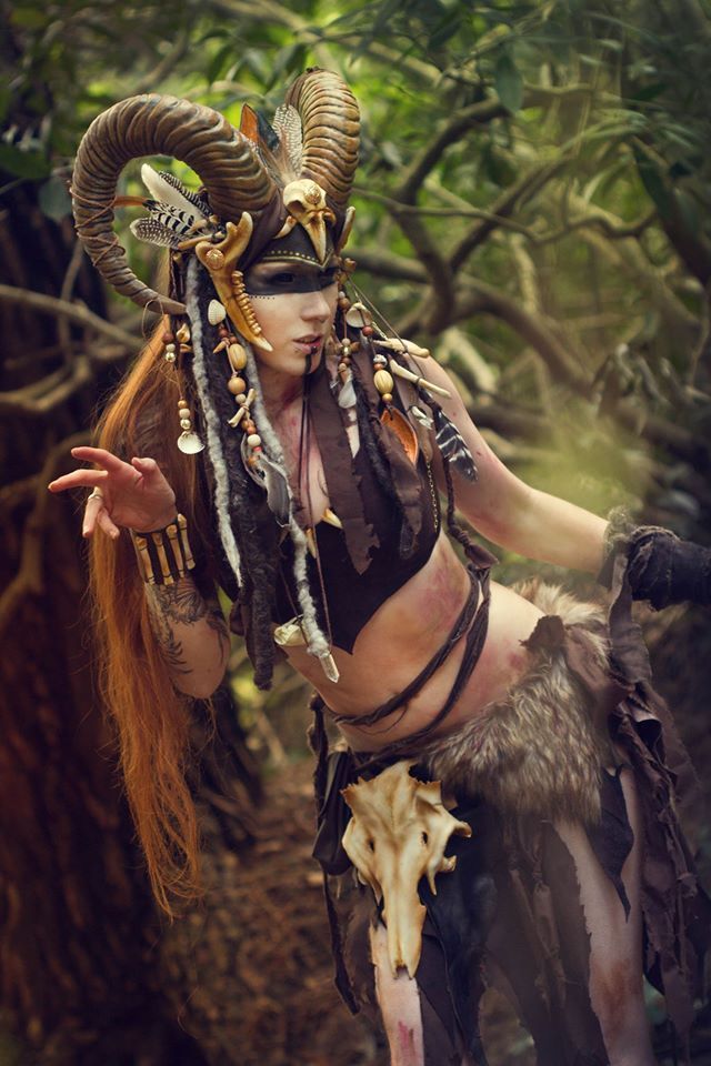 Amazing faun costume by Lightning CosplayPhoto by Ralf Zimmermann