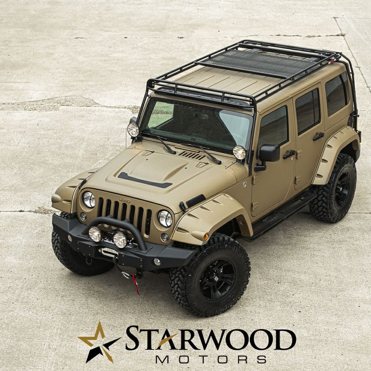 Unlimited Jeep Customization http://www.starwoodmotors.com/web/Custom_Jeeps/