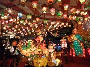 長崎ランタンフェスティバル/新地中華街会場/湊公園のランタンとオブジェ(2)