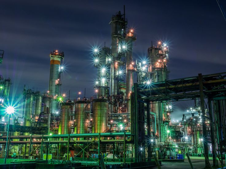 Night view of the factory#1 | Flickr - Photo Sharing!