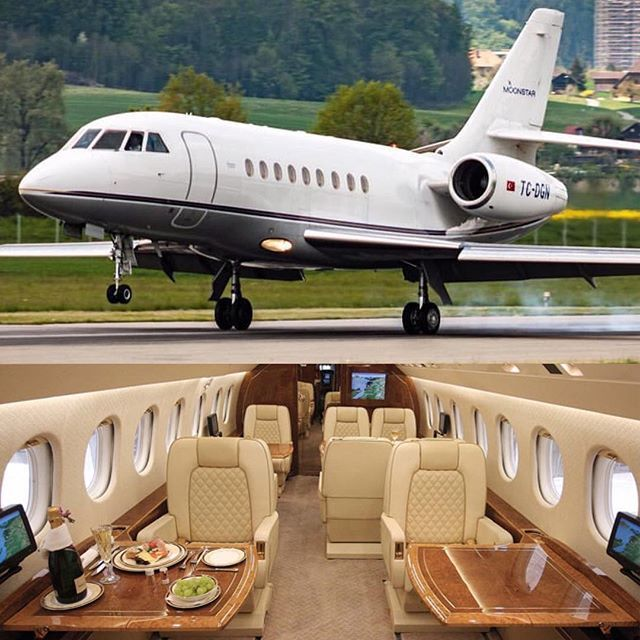 ✈️Beautiful Falcon 2000.One of the best bargains in the private jet market. Great price, Great performance. Follow @elevatevideos for the best aviation videos from around the world. @elevatevideos. Tag someone who you will fly with     by @airport_spotting  #privatejet #elevatejets