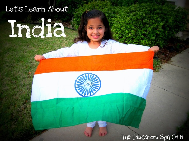 Let's Learn About INDIA with cooking, books, crafts and printables from The Educators' Spin On It