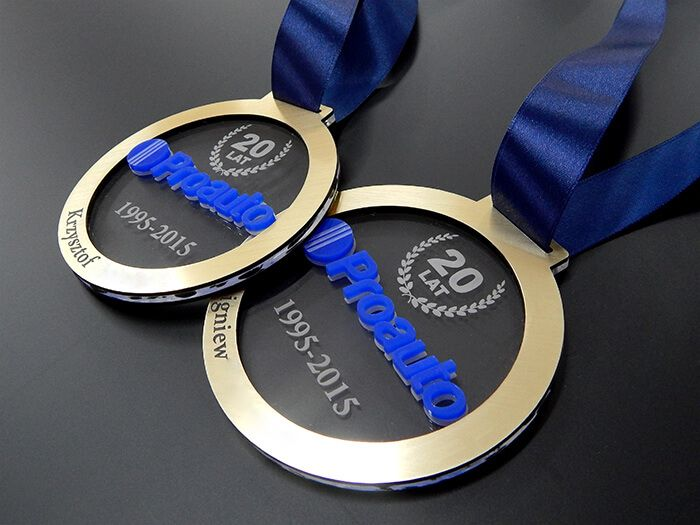 Medal jubileuszowy 20-lecie Proauto