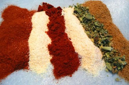 Homemade Chili Powder - I made this last night because I was out, but happened to have all these ingredients on hand. Worked perfectly!!!