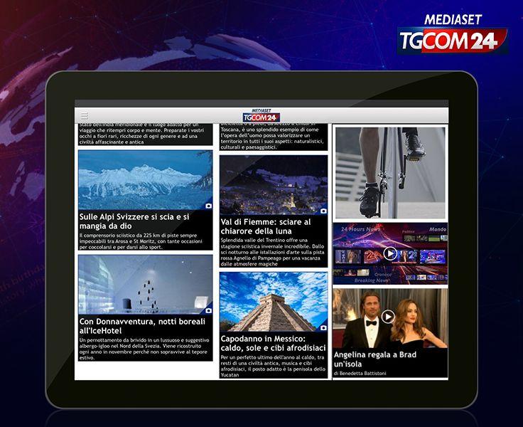 State pensando a un viaggio per #Natale o #Capodanno? La nuova #app #TGCOM24 ha un'intera sezione dedicata ai #viaggi, ricca di spunti e suggestioni valide 365 giorni su 365!