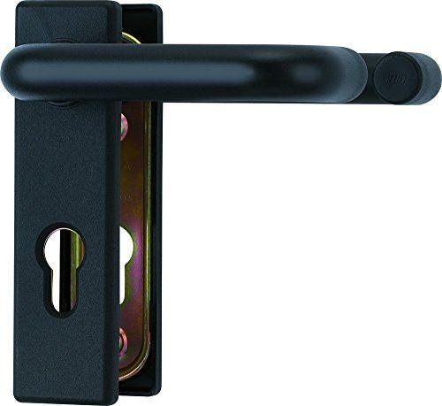 ABUS 215230 Poignée pour porte coupe-feu Modèle KFG (Import Allemagne): Poignée pour porte coupe-feu Blindage acier avec revêtement…