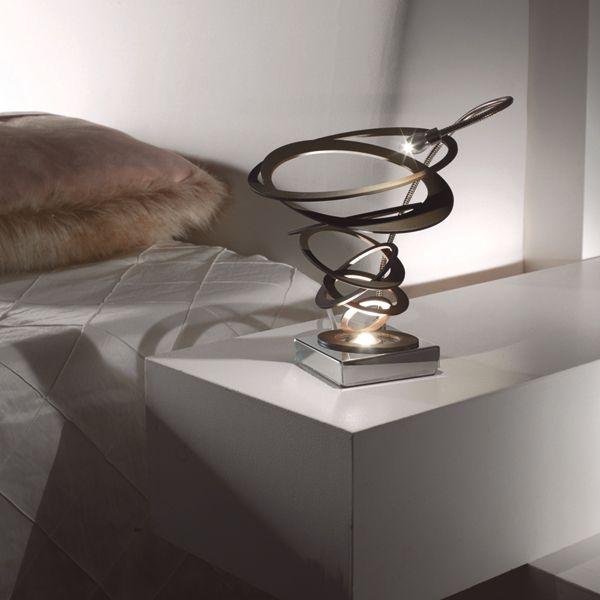The #Masca Loop #table #lamp is more than a source of illumination, it is a piece of sculptured #art.
