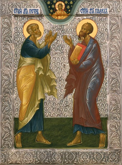 Икона Апп. Петр и Павел
