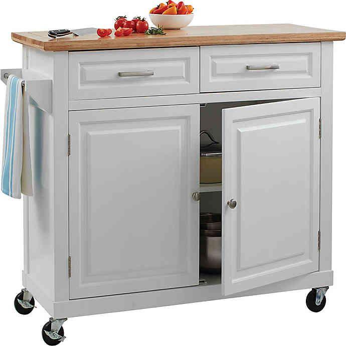No Tools Kitchen Island Bed Bath Beyond Kitchen Design Diy Kitchen Design Rolling Kitchen Island