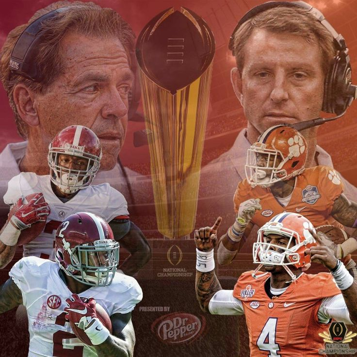 Alabama 45 vs Clemson 40  National Championship 2016