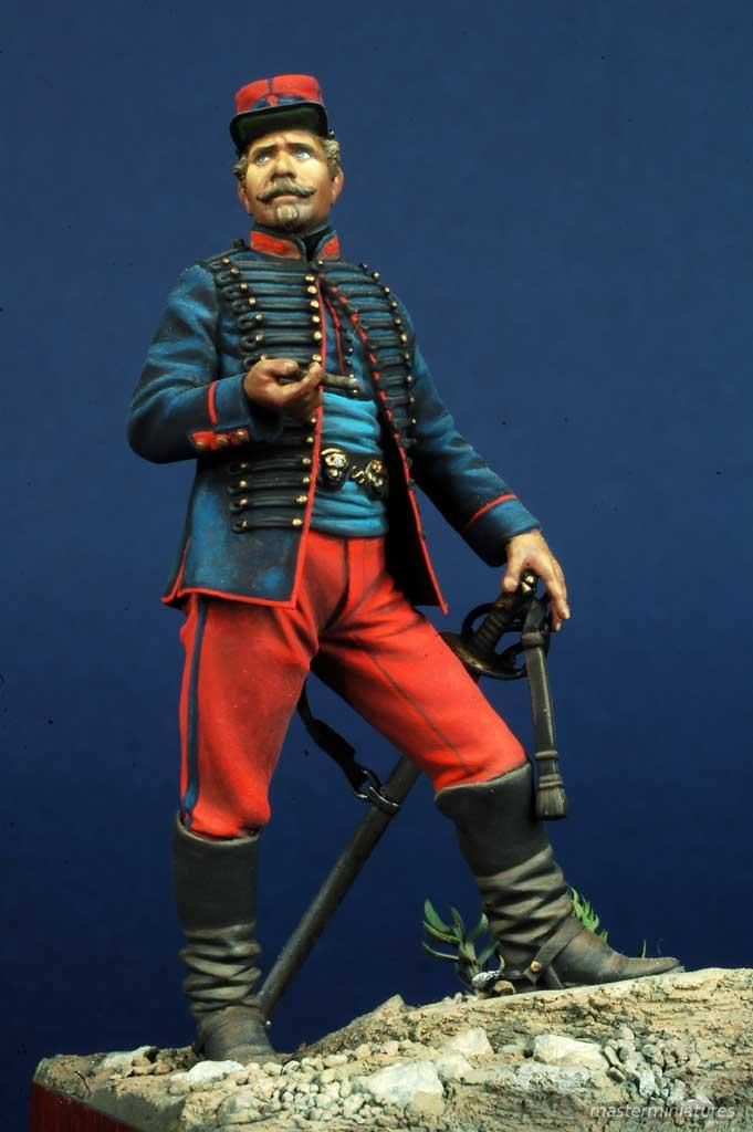 Furiere Squadrone a Cavallo Legione Straniera - 1863-1865 - Virtual Museum of Historical Miniatures