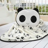 Size: 75*140 Brand: Ai Kexin Product categories: coral carpet Color: Panda Weight: 240 Series: blank
