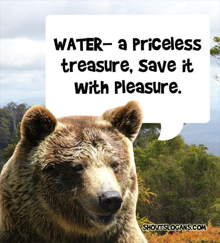 Water is a priceless treasure, Save it!