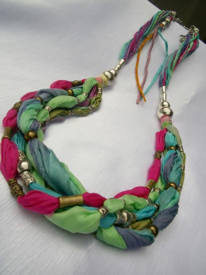 17 best images about fabric jewelry on pinterest
