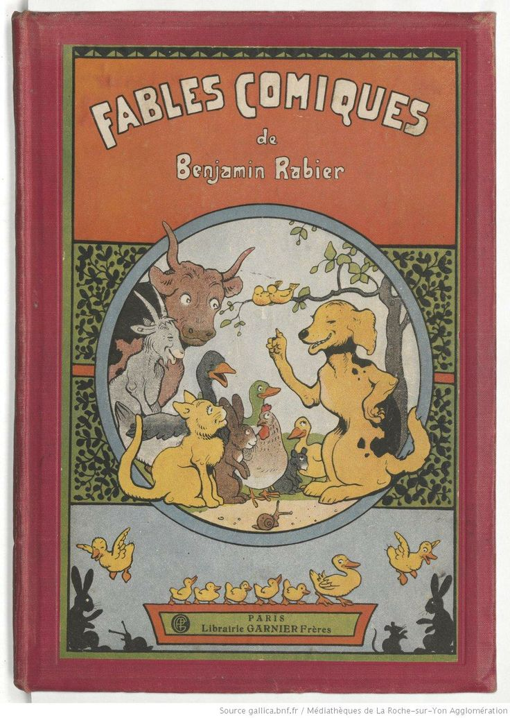 Fables comiques, de Benjamin Rabier