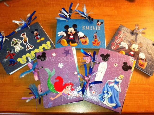 Make Your Own Disney Autograph Books #disney #pinterest