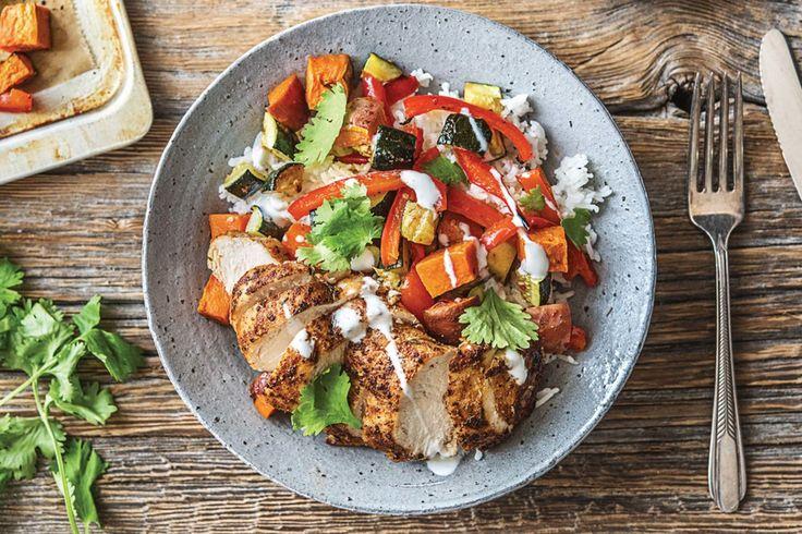 Cajun Chicken & Veggie Rice Bowl Recipe | HelloFresh