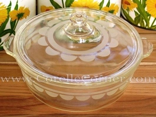 how to clean baked on pyrex dishes