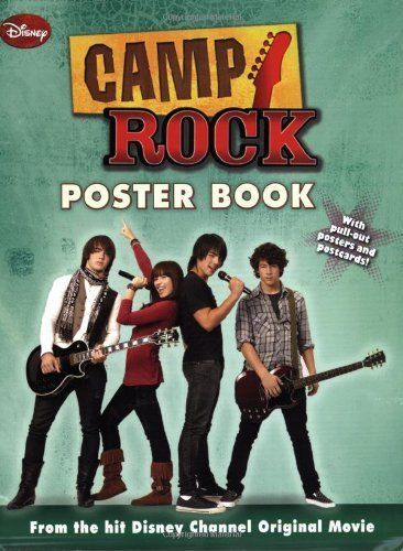 Camp Rock Poster Book By Disney 142311440X | eBay