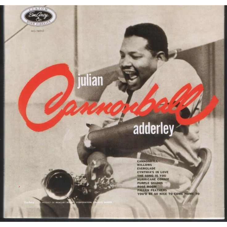 Cannonball Adderley - Julian 'Cannonball' Adderley [1621 x 1621]