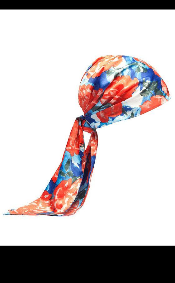 15 formas de llevar un turbante; pañuelo bimba y lola