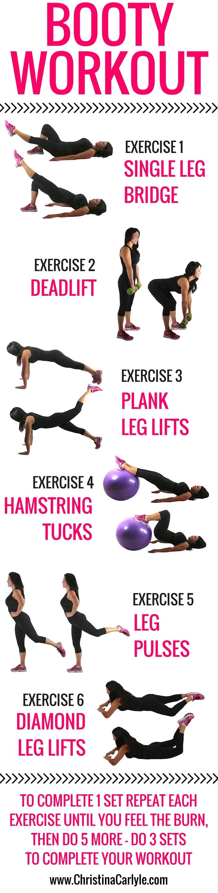 This butt workout engages the glutes and can help lift and tighten your butt without doing any squats.  #workoutforwomen