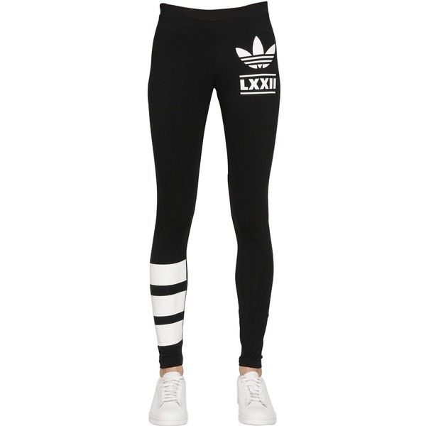 white adidas leggings