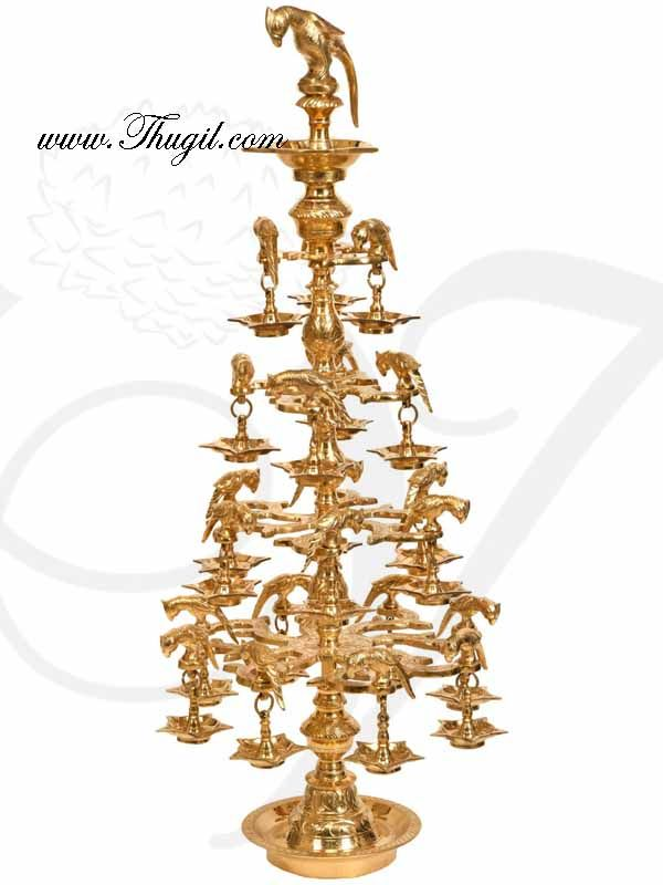 Large Indian Lamp For Wedding Festival Diwali Decorations In 2020 Indian Lamps Brass Lamp Brass Diyas