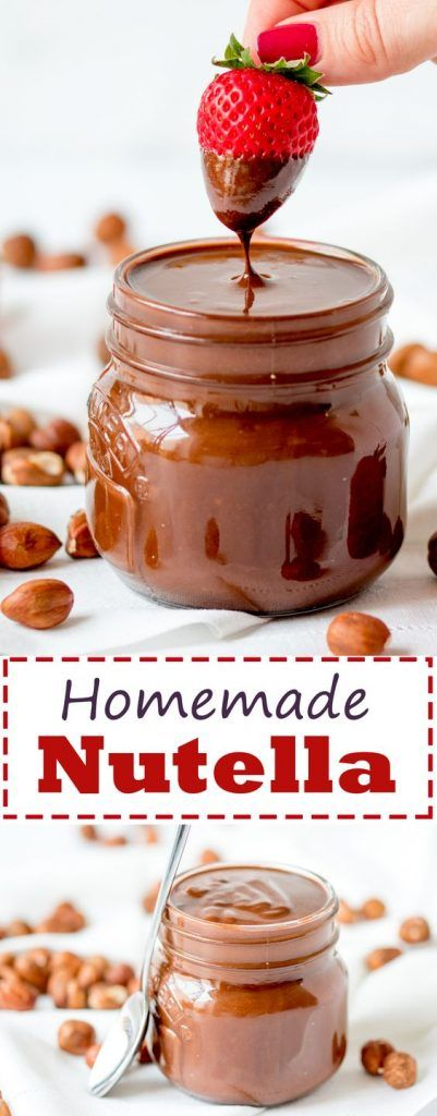 Homemade Nutella with Real Chocolate