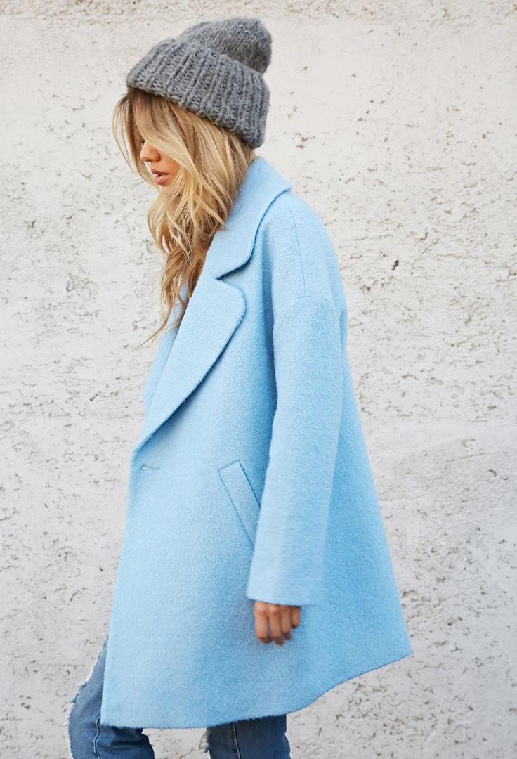 Oversized Bouclé Coat | FOREVER21
