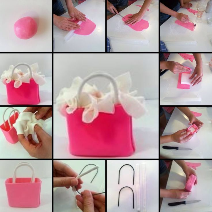 Shopping Bag Cake Tutorial