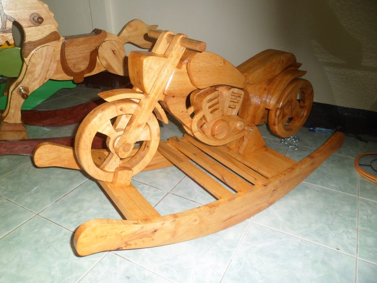 1000 images about lloyd 39 s wood toy plans on pinterest for Woodworking plan for motorcycle rocker toy