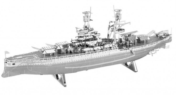 3D kovové puzzle METAL EARTH USS Arizona