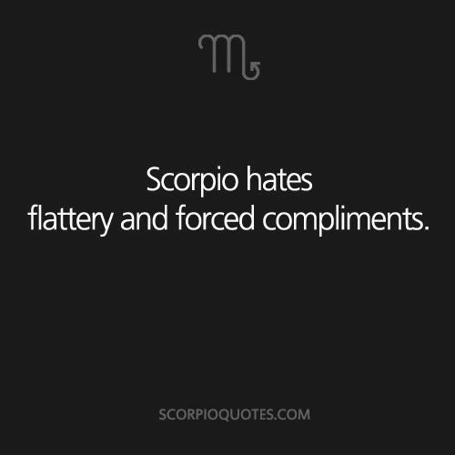 compliments a scorpio men and dating
