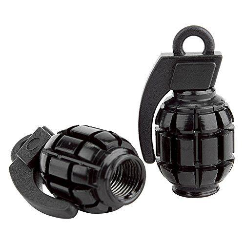 Black Ops Grenade BMX Schrader Valve Caps, Black http://coolbike.us/product/black-ops-grenade-bmx-schrader-valve-caps-black/