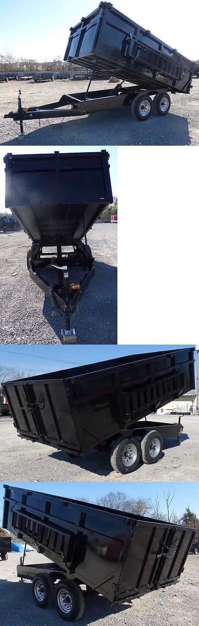 Other Outdoor Power Equipment 29520: Dump Trailer 6X12 Landscape Equipment 3 Ft Sides -> BUY IT NOW ONLY: $4825 on eBay!