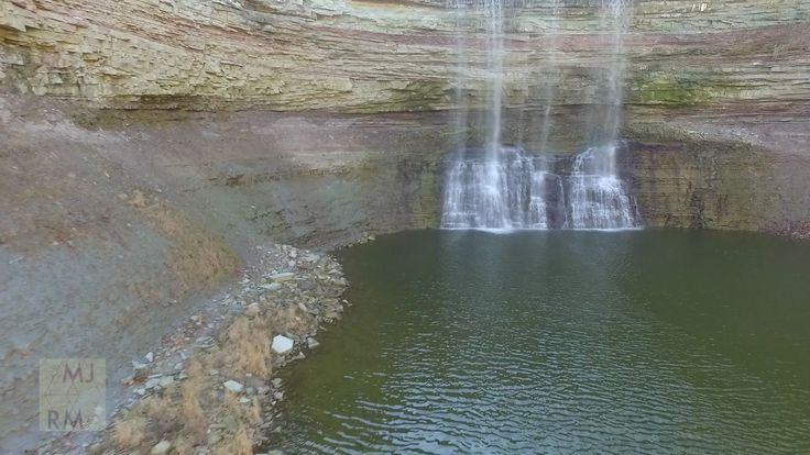 Drone Flight at Ball's Falls Conservation Area, Niagara
