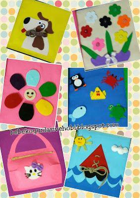 Elifce Bebek Oyunları ve Hobi: Eva'dan eşleştirme kartları yapımı